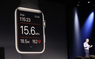 How Apple's Wearable Technology Could be Used to Improve Health