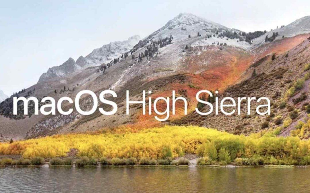 Release of macOS High Sierra 10.13.4 from Apple